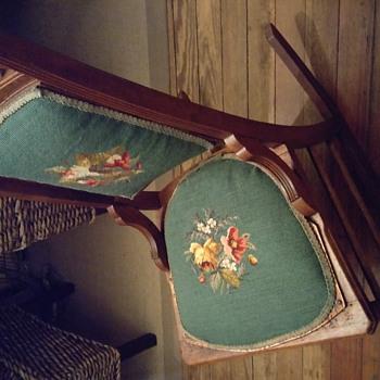 Eastlake Tapestry Rocking Chair - Furniture