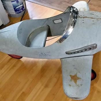 Vintage Airplane Pedal Car - Toys