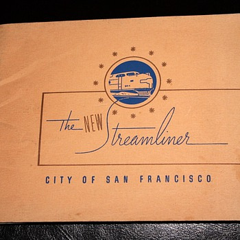 The NEW Streamliner - the City of San Francisco - Railroadiana