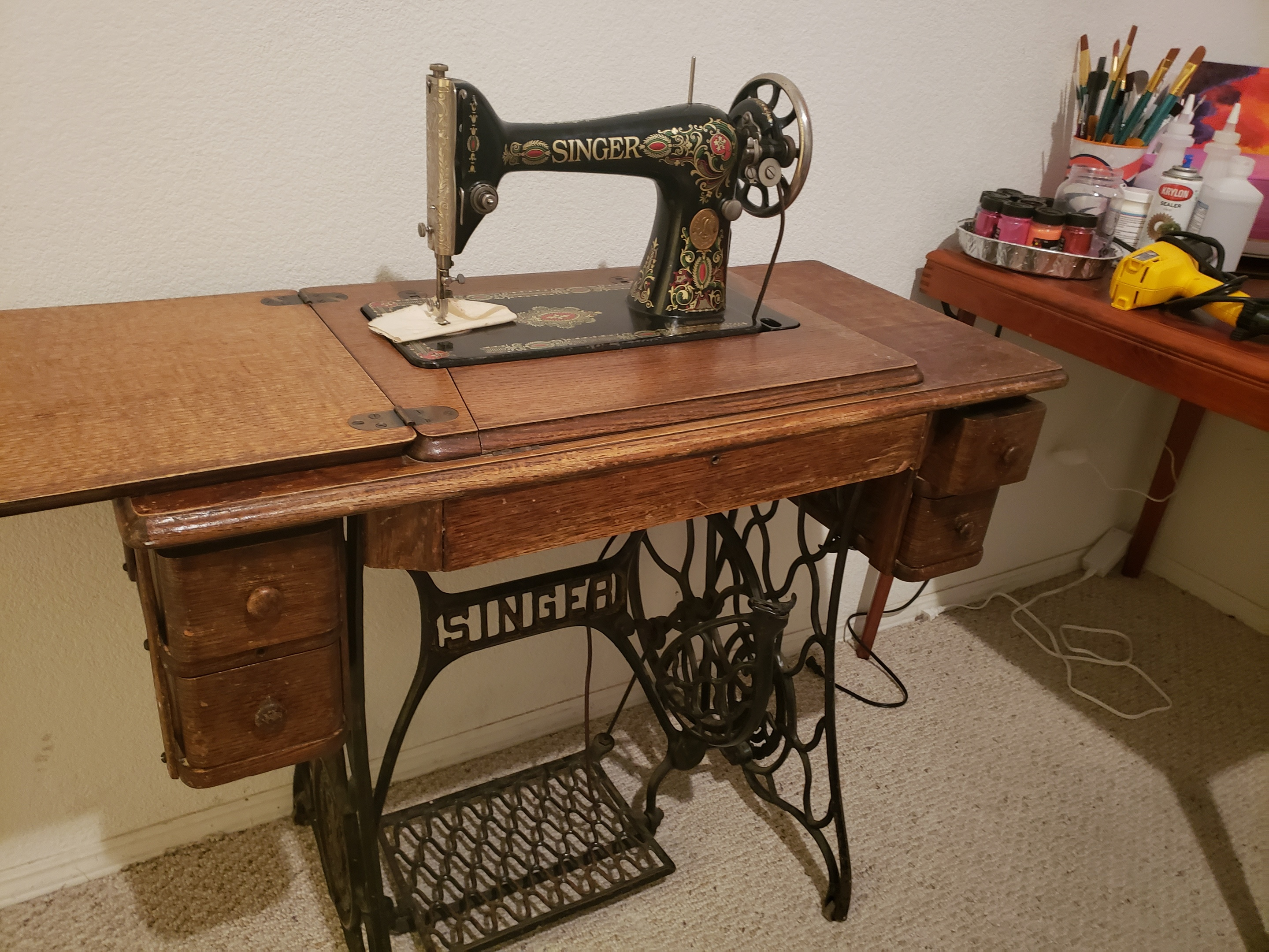Who Buys Antique Singer Sewing Machines Near Me