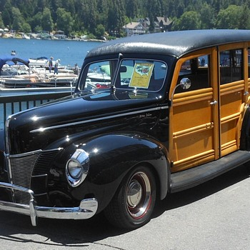 Wrapping Up the Lake Arrowhead Woody Show - Classic Cars