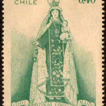 "Chile - ""O'Higgins Shrine"" Postage Stamps - Stamps"