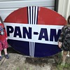Happy 4th of July !!! Pan-Am porcelain sign
