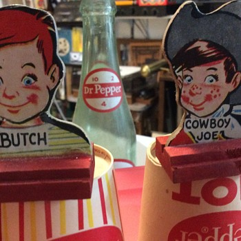 Butch and cowboy drink Dr Pepper  - Advertising