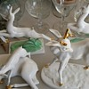 Vintage Italian White Reindeer Collection