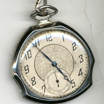 My mother-in-law's deco pocket watch