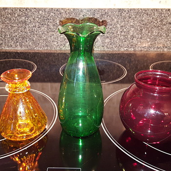 Great Grandma's Colored Glass