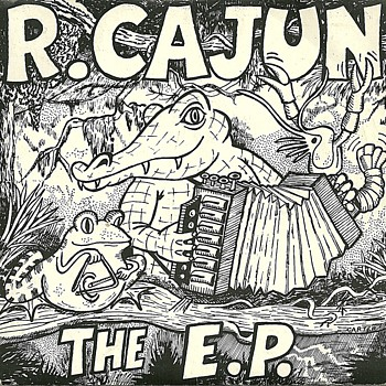 R. Cajun & The Zydeco Brothers - French Cajun Banjo Blues - E P Records UK - Vinyl single (7 inch record) 1983. - Records