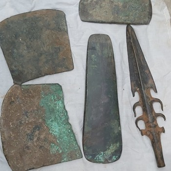 Copper age weapons and tools - Tools and Hardware