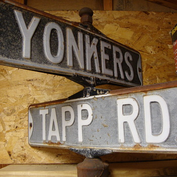 Vintage 1970's Street Signs............ - Signs