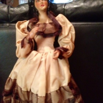 Old Spanish  or Mexican Doll - Dolls