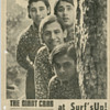 Original 60's GIANT CRAB Psychedelic Band Flyer