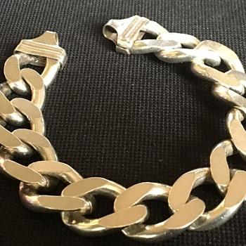 Gents silver bracelet  - Fine Jewelry