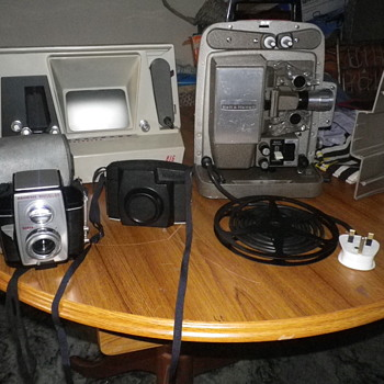 Camera related equipment, cameras and cine projectors which are today's Sunday Boot sale finds.