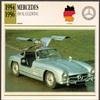 Vintage Car Card - Mercedes 300 SL