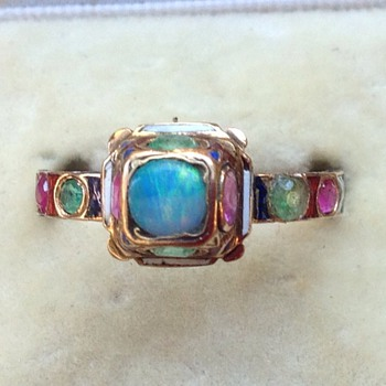 French 19th Century Neo Renaissance style ring - Fine Jewelry