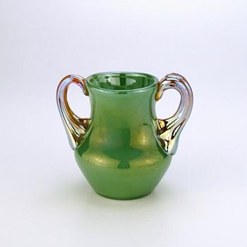 Loetz Ausführung 129 with handles circa 1909 - Art Glass