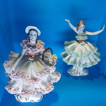 D Original Germany set of 2 figurines - Figurines