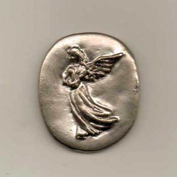 Pewter Pocket Angel