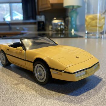 Franklin Mint 1986 Chevrolet Corvette  - Model Cars