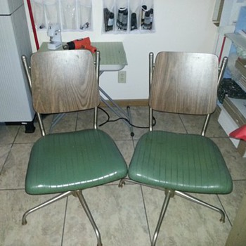 Neat Office Chairs - Mid-Century Modern