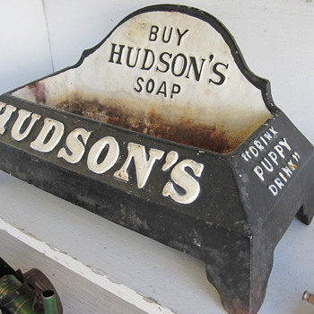 Hudson's Soap Puppy Water Dish (and other Advertising Items) - Advertising