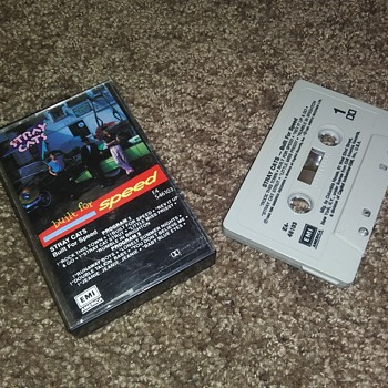 The Stray Cats...On Cassette Tape Format - Records