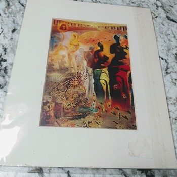 SALVADOR DALI PRINT - Posters and Prints