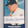 MY BEST MICKEY MANTLE CARD