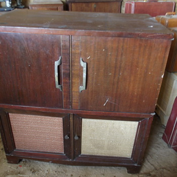 Antique Version of an Entertainment Center?