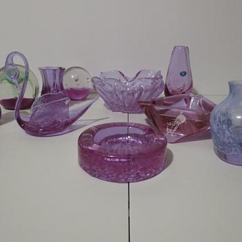 Neodymium Glass!! - Art Glass
