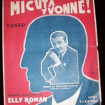 Sheet Music and Advertising - Music Memorabilia