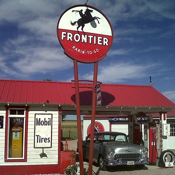 Frontier Station - Signs