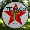 1955 72 inch texaco sign double sided
