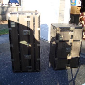 wardrobe steamer trunk  - Furniture