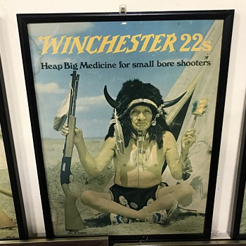 Winchester 22's advertising  - Advertising