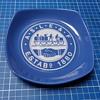 ASLEF Trade Union ceramic ashtray.