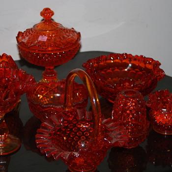 Fenton Glassware Hand Made - Glassware