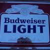 Budweiser Light Mirror