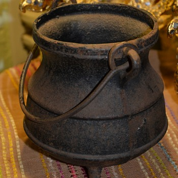 Old Cast Iron Smudge Pot! - Kitchen