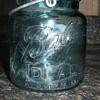 Blue Ball Ideal Pint jar