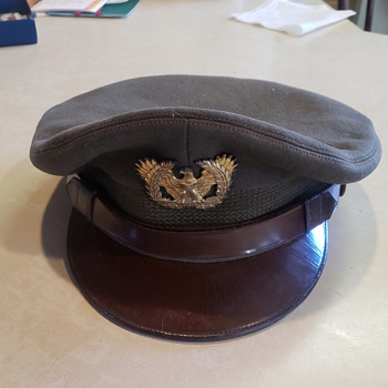 WWII Military Crusher Caps - Military and Wartime