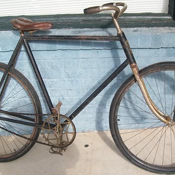 1900 Iver Johnson Bicycle - Victorian Era
