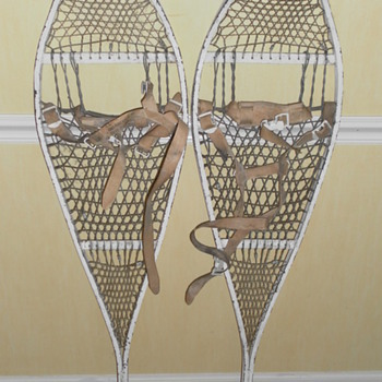 US 1966 Metal Snow Shoes - Sporting Goods