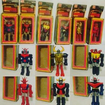 1970's Mattel Shogun Warrior Figures !
