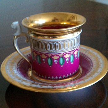 French porcelain cup  - China and Dinnerware