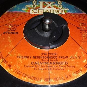 CALVIN ARNOLD - Records
