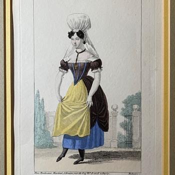 Costumes d'Acteurs des Théâtres de Paris - Posters and Prints