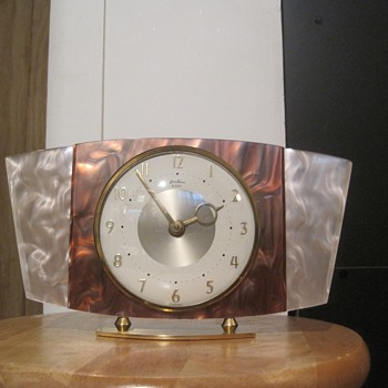 Bentima Faux Mother-of-Pearl 8 Day Clock - Clocks