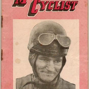 1956 - N.Z. Motor Cyclist Magazine - Paper